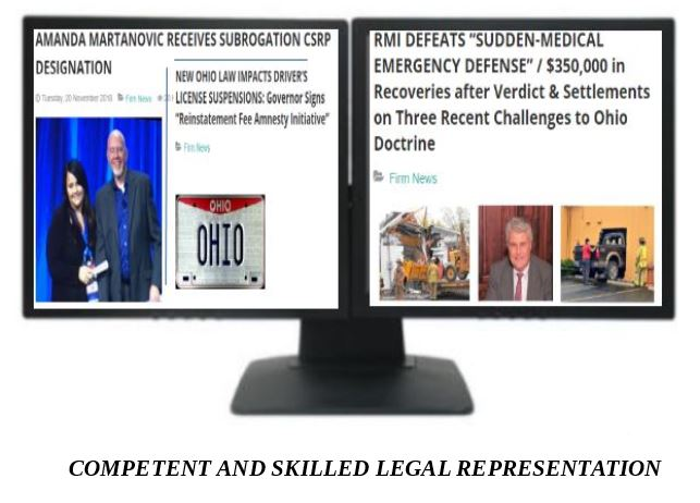 Ohio Automobile Subrogation - Roberts, Matejczyk & Ita Co , LPA